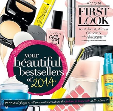 Avon First Look magazine c2 2015