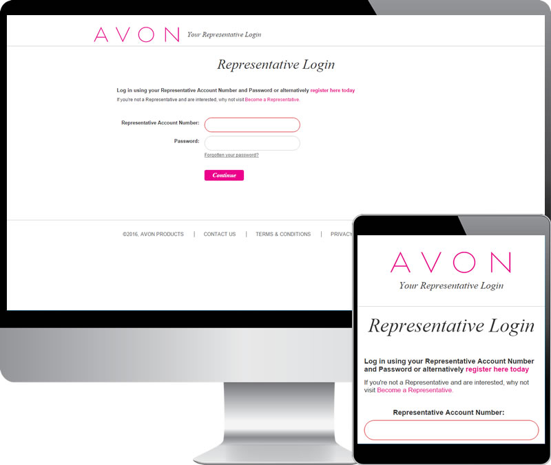 avon log in