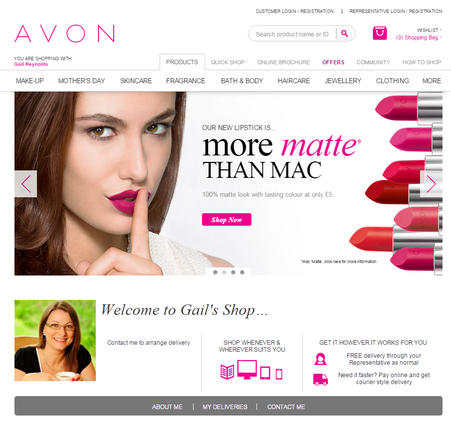 Buy Avon with GailsAvon