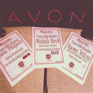 Avon Campaign 14 Incentive Achievers
