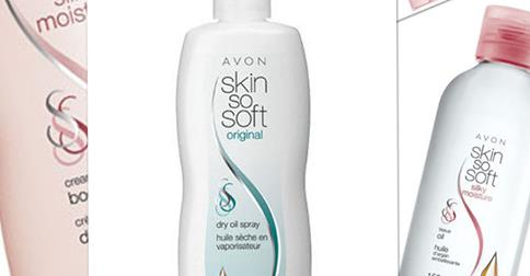 Avon Skin So Soft collection
