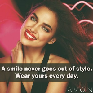 Avon make up lipstick quote