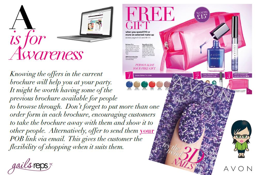 Avon Party A is for Awareness