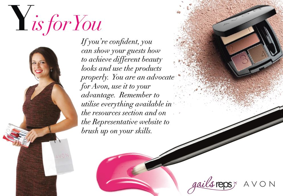 Avon Party Y is for You