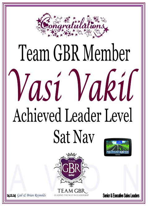 Avon Campaign 17 Incentive achievers Vasi Vakil