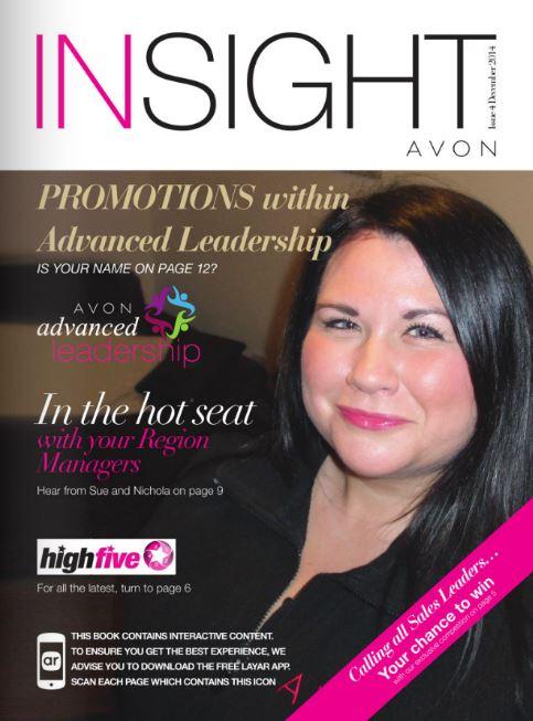 Avon Insight magazine issue 4 2014 cover