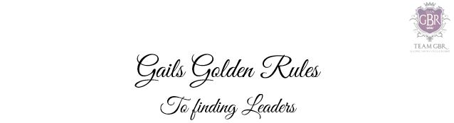 Avon Time 2 Tag: GGR to finding Leaders