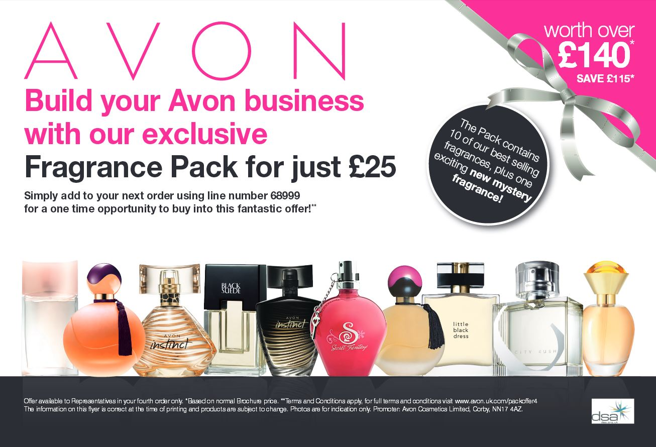 avon fragrance pack
