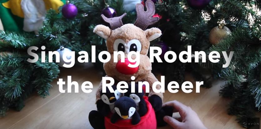 Rodney Avon sing along Reindeer