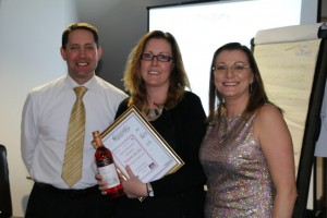 Dawn Eccles won longest established Avon Leader and PC achiever