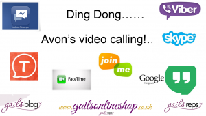 Ding Dong Avon is video calling