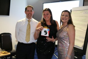 Emma Gardner won a web cam with avon
