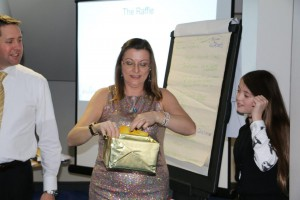 Jayne Walker won the golden ticket draw