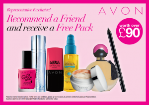 Avon Recommend a friend flyer