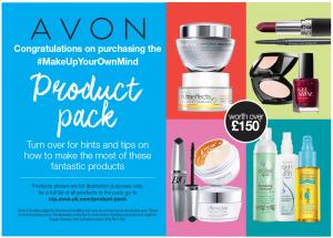 Avon Make Up Your Own Mind Flyer