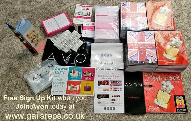 Free Avon appointment kit