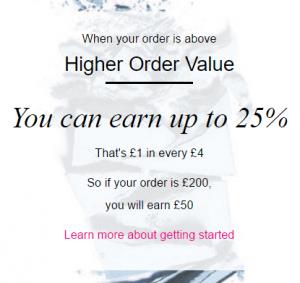 Avon earnings opportunity earn 25% on order over HOV