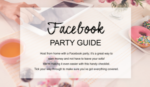 face book avon party guide image