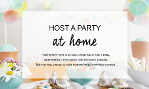 host an avon party from home