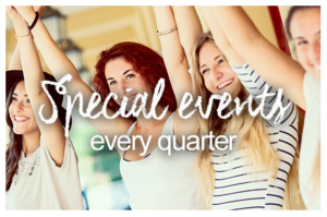 special events every quarter avon presidents club